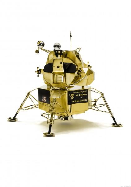 Scale Replica of the Lunar Module, Cartier Paris 1969