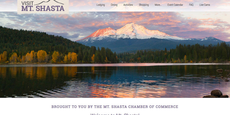 Visit Mt. Shasta, California