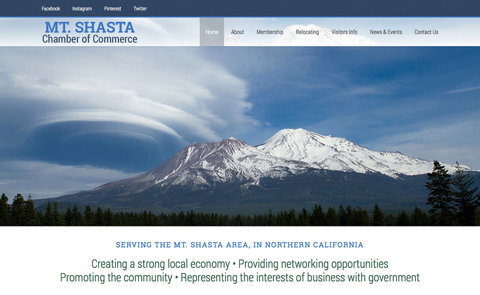 Mount Shasta Chamber of Commerce