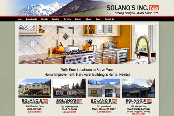 SOLANO'S Inc.