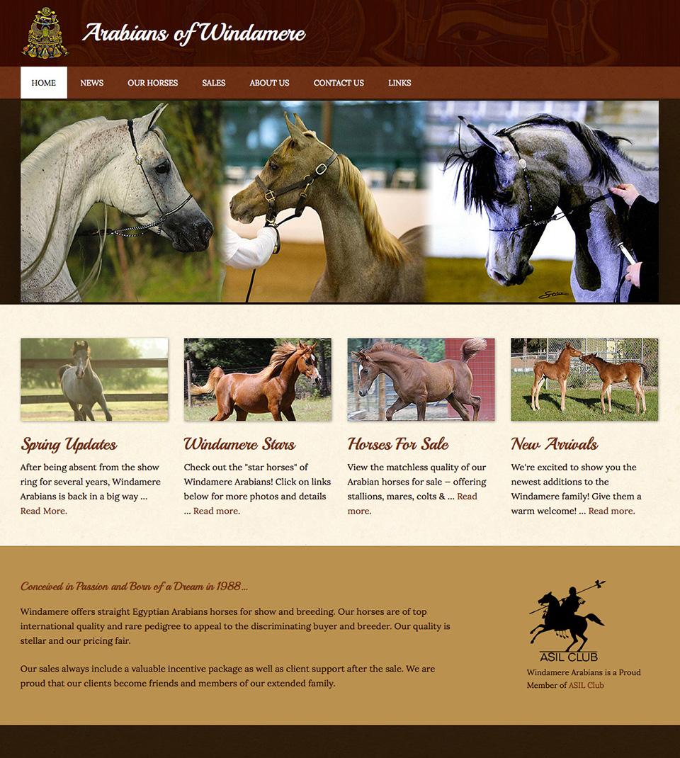 Arabians of Windamere