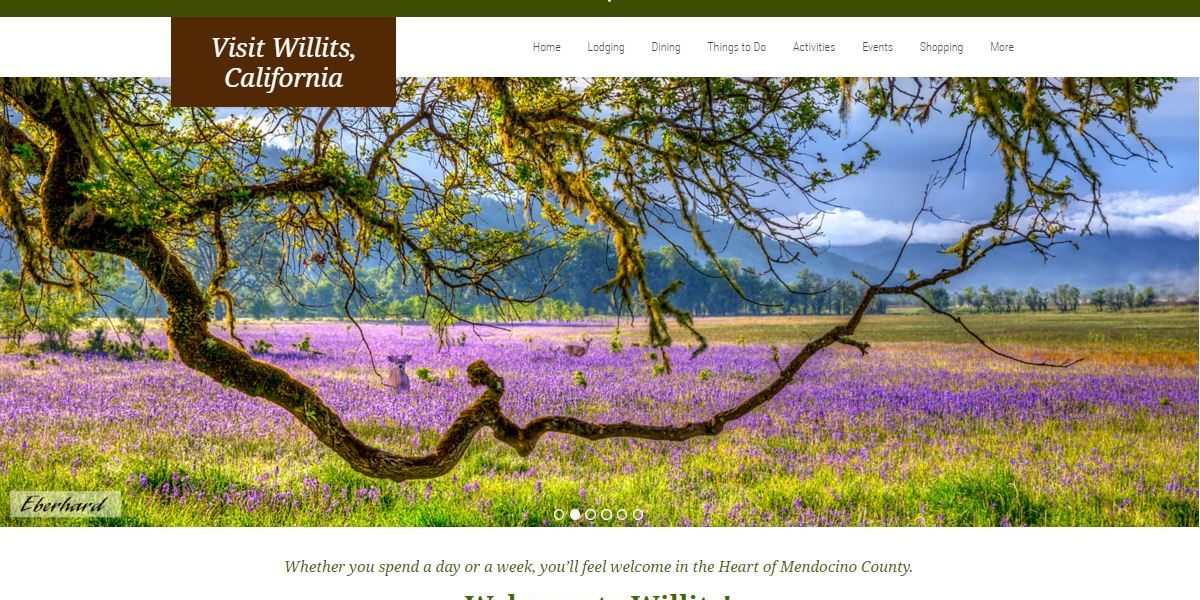 Visit Willits, California