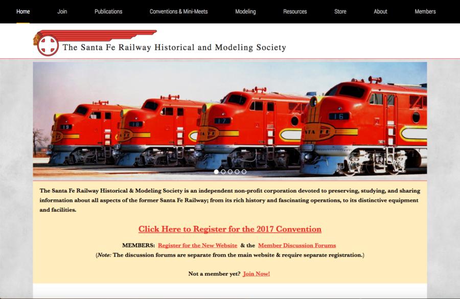 The Santa Fe Railway Historical & Modeling Society