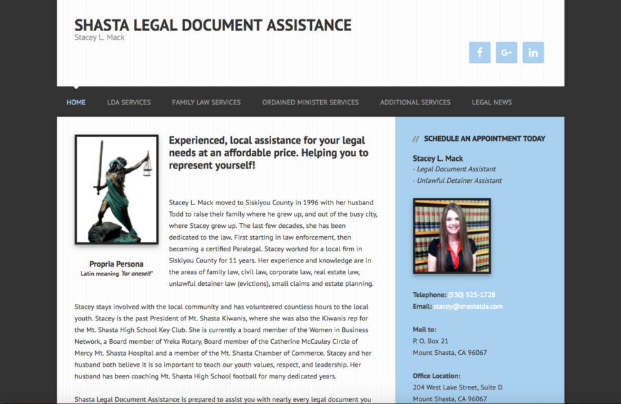 Shasta Legal Document Assistance