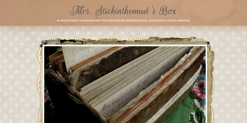 Mrs. Stickinthemud's Box