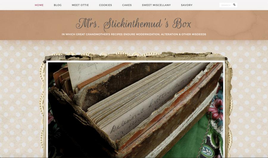 Mrs. Stickinthemud's Box