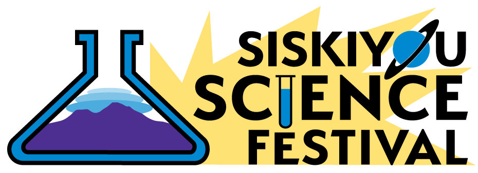 Siskiyou Science Festival Logo design, fall 2017
